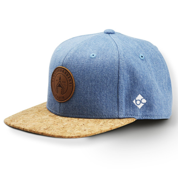 "Bavarian Cap – ""Further Klosterbräu"" – blau (Snapback)"